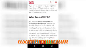 what is apk file format what is apk what is connection of apk with android