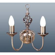 2 light wall light thlc traditional barley knot twist 2 light wall light l lighting