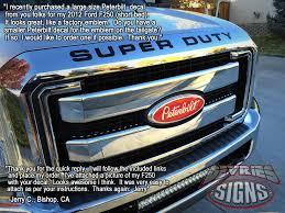 Vintage Ford Truck Emblems - domed peterbilt ford emblem overlays 3m f 150 f 250 f 350
