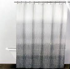 Grey Shower Curtains Fabric Amazon Com Dkny Twine Graphite Grey Fabric Shower Curtain Home
