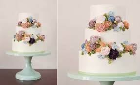 wedding cake buttercream buttercream flowers tutorials cake magazine