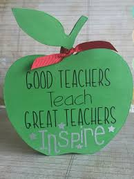 Apple Home Decor Teacher Appreciation Thank You Gift Personalised Free