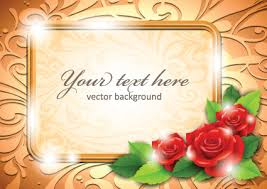 beautiful flower frame background free vector download 54 257
