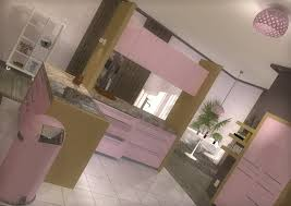 pink kitchen ideas breathtaking small pink kitchen come with pink color backsplashes
