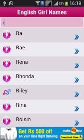 baby names meaning android apps on play