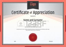 certificate of appreciation template royalty free cliparts