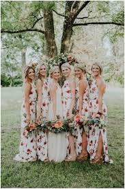 floral print bridesmaid dress floral bridesmaid dresses are the trend in wedding attire
