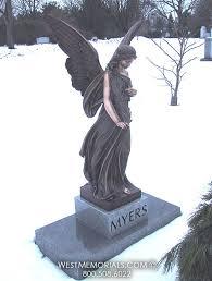bronze statue family memorial ideas memorials