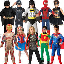 halloween marvel costumes childrens super hero marvel dc comic book week day fancy dress