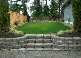 Lawn Landscaping Ideas 30 Stone Wall Pictures And Design Ideas To Beautify Yard