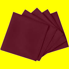 serviette de bureau pour homme lot de 60 serviettes de table bordeaux 42 x 42 cm agencement