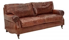 vintage leather kent sofa 3 seater sofas interiors online
