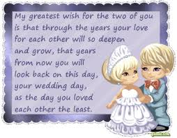 wedding wishes to niece to my niece and soon to be husband brandon may
