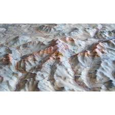 Mount Washington Map by White Mountains 4000 Footers 3d Wall Map Amc Store Appalachian