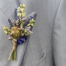 wedding flowers buttonholes provence buttonhole set of four by the artisan dried flower