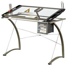 Artist Drafting Table Computer Desk With Drafting Table Adjustable Drawing Desk Artist