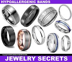 hypoallergenic metals for rings the 5 most comfortable wedding bands jewelry secrets
