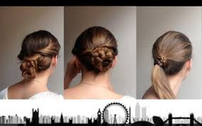 Simple And Easy Hairstyles For Office by London Life 3 Quick Office Hairstyles Part 1 Youtube