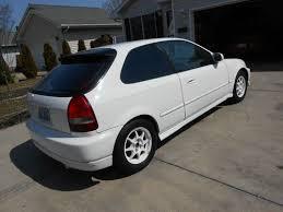 2000 honda civic hatchback sale sell used honda civic ex sunroof auto si splr no reserve rebuilt
