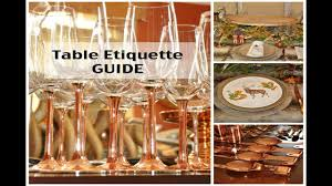 pottery barn kids thanksgiving 2016 thanksgiving tablescape u0026 table etiquette guide youtube