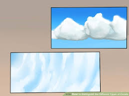 3 kinds of clouds 4 ways to distinguish the different types of clouds wikihow