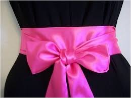 satin sash belt 2 5 x60 bright neon pink satin sash belt self tie bow for party