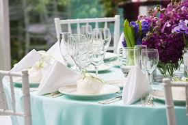 Fine Dining Table Set Up by Corporate Events Luncheons U0026 Parties