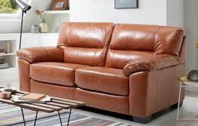 Leather 2 Seater Sofa Sale Dalmore Large Seater Sofabed Brazil With Leather Look Fabric Sofa