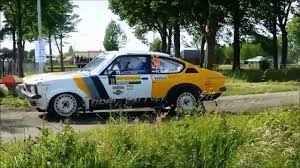 opel kadett rally car soetens rally team opel kadett c gte coupe 2 4cih youtube