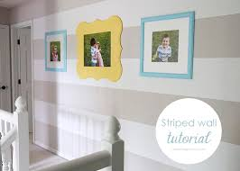 how to do a gallery wall striped hall and gallery wall makeover i heart nap time