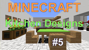 minecraft kitchen dining room design ideas 5 youtube