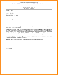 How To Write A Cover Letter line Application cover letter for