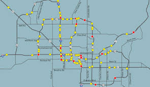 Phoenix Traffic Map by Adot Release Prototype Wrong Way Drivers Detection Technology Fall