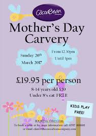 Mother S Day 2017 Mother U0027s Day Carvery 2017 The Cocoabean Company Ltd