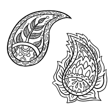 cool drawing designs by how to draw a paisley design in 6