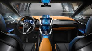 lexus nx200 interior lexus nx suv previewed by radical concept