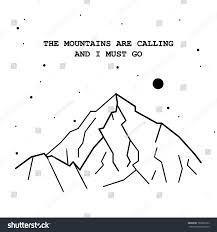 Karakoram Range Map Mountains Calling Must Go Vector Illustration Stock Vector