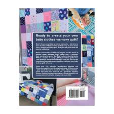 how to create a baby clothes quilt online course pattern