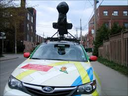 Street View Google Map Spotted The Google Maps Street View Car Loulou Downtown