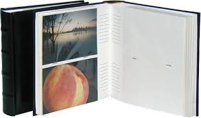 classic black 6x4 slip in photo albums 200 photos