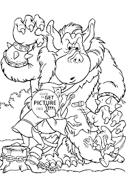 bears coloring pages for kids printable free