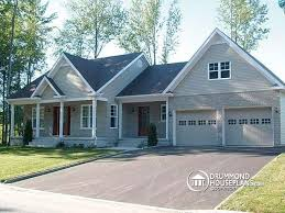 hillside garage plans house plan w3620 detail from drummondhouseplans com