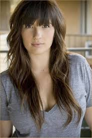 trendy long hairstyles with bangs layered haircuts style samba