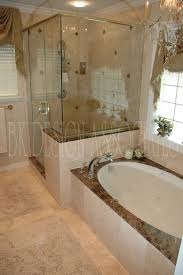 cabin bathroom ideas glass shower cabin partition walls bathtub glass window panel with