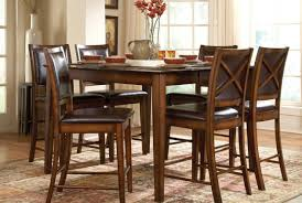 High End Dining Room Chairs Dining Room Counter Height Kitchen Table Pleasing Bar Height