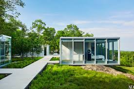 architect design kit home toshiko mori u2013designed glass houses dot this incredible hudson
