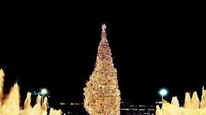 zona rosa tree lighting kansas city plaza christmas lights and mayor s christmas tree