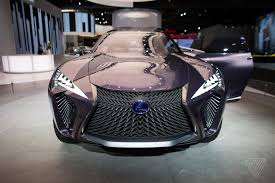 lexus car 2017 the lexus ux concept looks like it will chew you up and spit you