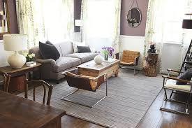 purple wall paint eclectic living room benjamin moore