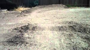 my backyard bmx track youtube